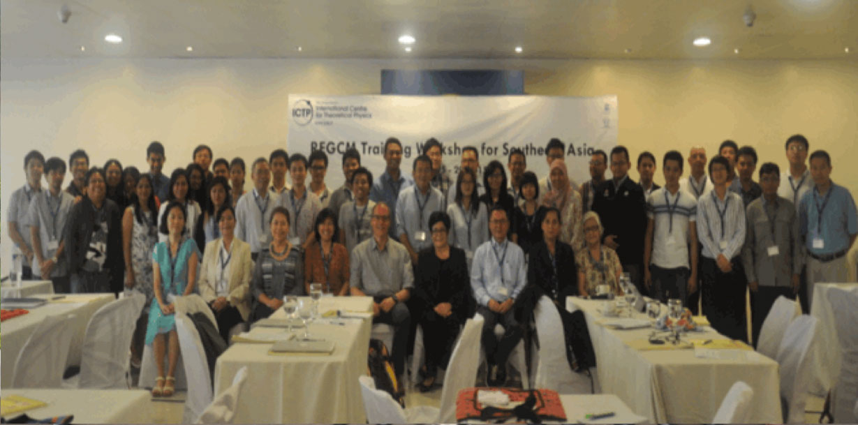RegCM training workshop for southeast asia, Philippines