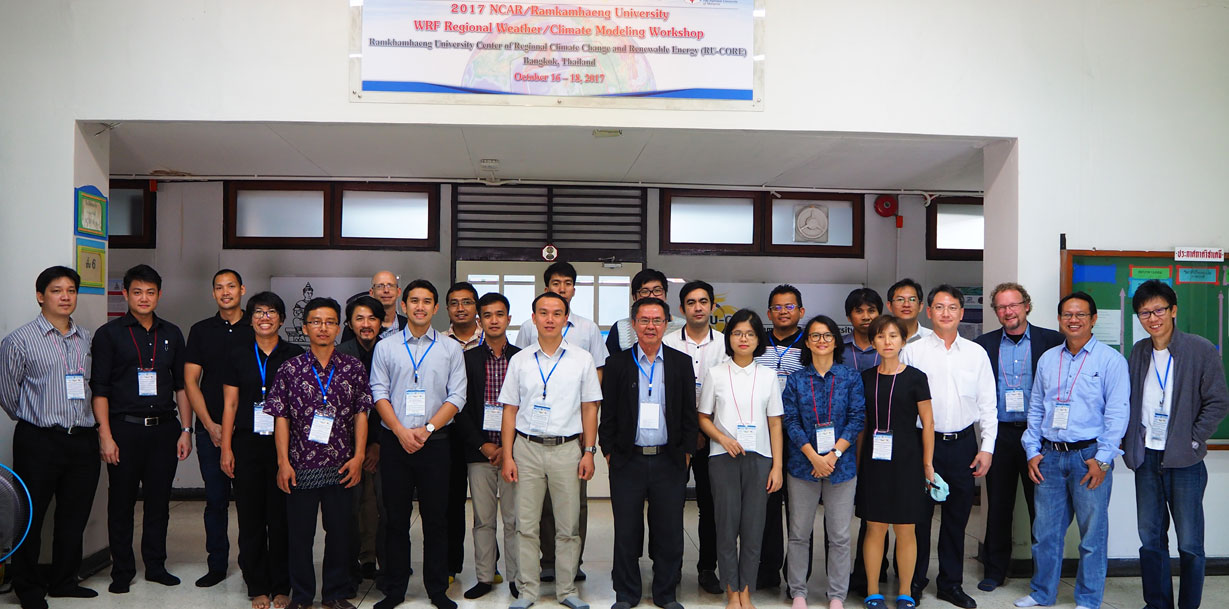 WRF Regional Weather/Climate Modeling Workshop